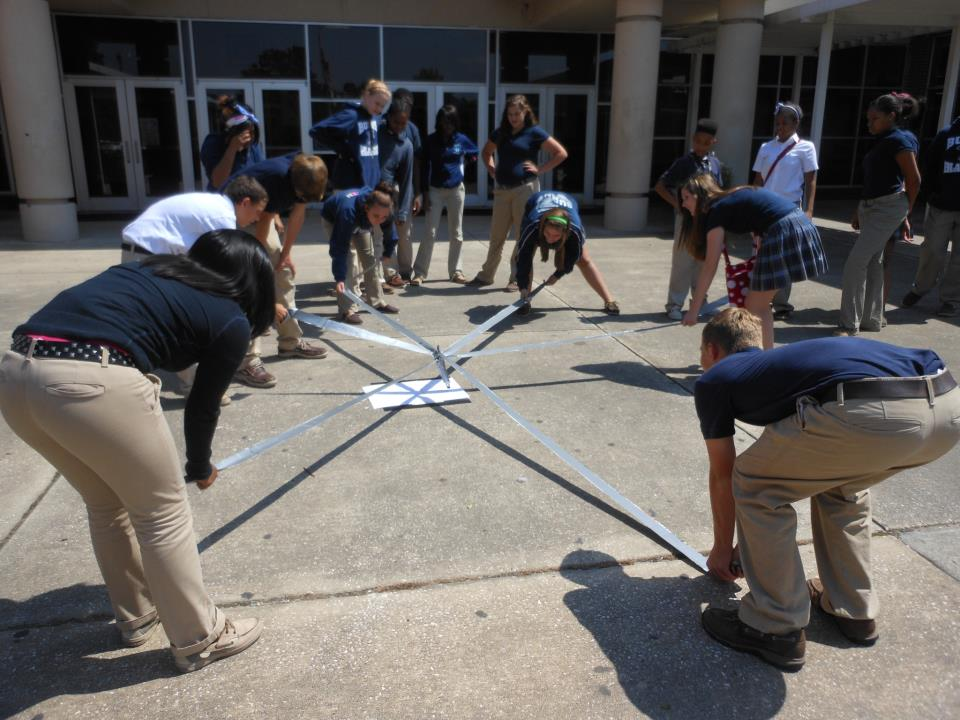 Duct Tape Team Building Challenge! – Friends of BEST in Alabama